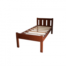 Wooden Bed Single