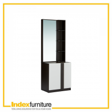 PIANO STAND DRESSING TABLE - BlACK BROWN/WHITE