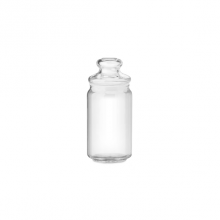 POP JAR WITH GLASS LID B02526 G0000