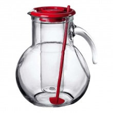 Glass Jug with lid SL