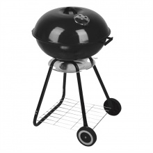 Jumbuck 57cm Black Charcoal Kettle BBQ