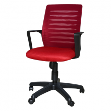 COMPUTER CHAIR MA7 CUSHION RED