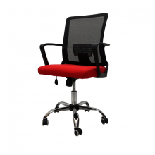 Office Chair Mesh 010-B Red