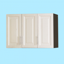 UPPER KITCHEN CABINET 3 DOOR WOOD - D/OAK