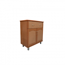 KITCHEN CABINET (PD) WITH CERAMIC TILE TOP VTF KF29CT(PD) CHERRY