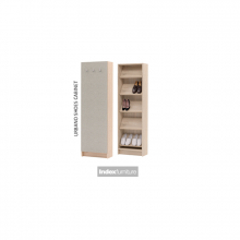URBANO SHOES CABINET - EAMESTEAK OAK