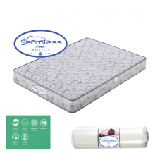 SEAMLESS POCKET SPRING MATTRESS (150X190X18CM) 5x6.3ft (7inches height) Queen Size
