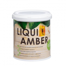 Liqui Amber UV Varnish Gloss Dark Walnut 1ltr