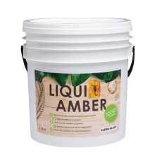 Liqui Amber UV Varnish Matt Dark Walnut 5ltr