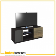 HARSH TV CABINET 120 CM. - BKBN/CMO