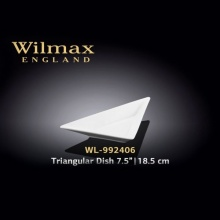 Wilmax Triangular Dish