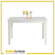 H-RAYMOND/P DINING TABLE 120X80CM - WHITE