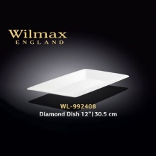 Wilmax Diamond Dish