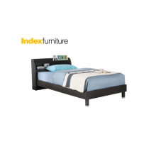 KINDER-A BED FRAME 3.5X6.6ft  BKBN