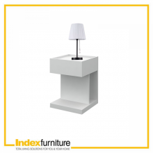 Seona Night Table 39cm - White