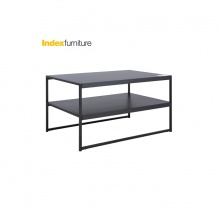 LAY Coffee Table 80cm - Black