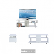 FOX TV Stand 47inches - White