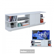 H-MUCH TV Cabinet 63 inches - White