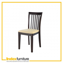 CARA/P DINING CHAIR BW/CR