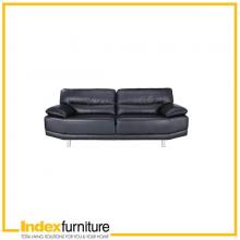 BECKY 3 SEAT SOFA PVC BLACK