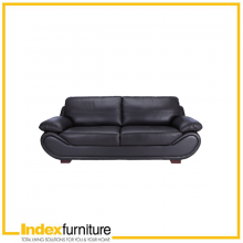 PORTO 3-SEATER LEATHER SOFA