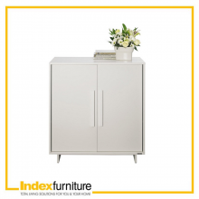 DEPTH low cabinet 80 cm - White