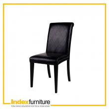 ADDA dining chair, bi-cast BK