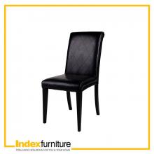 ADDA dining chair, bi-cast BK