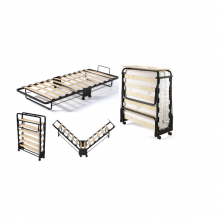 Folding Bed Single W/ Mattress (Guest Bed) 80X200