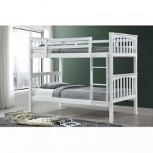 Allium Wooden Bunk Bed - White