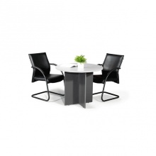 Round Conference Table 3ft - Grey