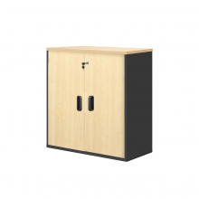 Swinging Door Cabinet - Maple