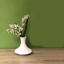 Linz Ceramic Vase - White