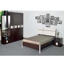 Bedroom Set With Queen Size Bed - Black