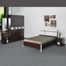 Bedroom Set with 4ft Bed - Black