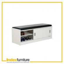 ECCO/P Shoe Cabinet - White