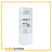 Passion Glass Show Cabinet 60 cm. - White