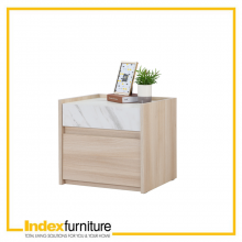 CARRARA NIGHT STAND 50 CM. - GRAND OAK