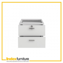 VECTRA HANGING CABINET DRAWER 40 CM. - WHITE