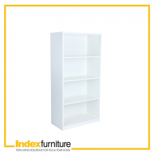 VECTRA HIGH CABINET 80 CM. - WHITE