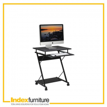 SWIFT COMPUTER DESK - BLACK