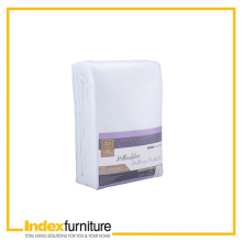 PRIME MATTRESS PROTECTOR 60 X 78 X 15 INCHES - WHITE