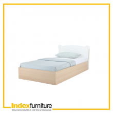 BEAR IN MIND KIDS BED 3.5 FEET - WHITE OAK