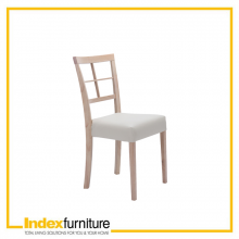 RAYMOND DINING CHAIR - NT/CR