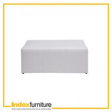 DURAN PVC STOOL - WHITE
