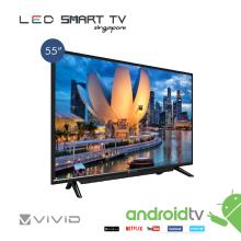 "VIVID 55""  SMART  LED  TV WITH SOUND BAR"