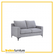 VIVEAN Sofa 2/S Fabric - Grey