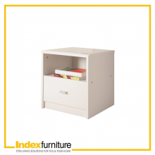 WINNER Bedside Table - White