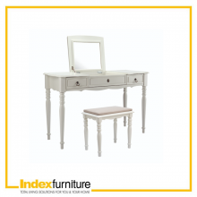 ANASTASIA DRESSING TABLE 120 CM. - WHITE