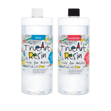 TrueArt Resin Epoxy 2ltr (1ltr resin +1ltr hardener)